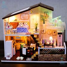 DIY Handcraft Miniature Project Wooden Dolls House One Meter Sun