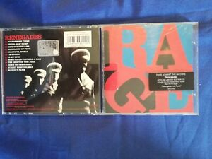 RAGE AGAINST THE MACHINE - RENEGADES - CD