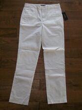 Polo Ralph Lauren Ajustado Sarga de Algodón Blanco Pantalones Pantalón Largo
