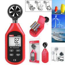 UNI-T UT363 LCD Air Flow Tester Digital Anemometer Wind Speed Meter Temperature