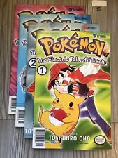 Pokémon: The Electric Tale of Pikachu Complete Collection , 1998 First Prints