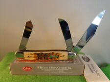 CASE XX  6347 SS - Stockman 3 Blades -  Bone Handles from 2017 Knife