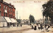 England Wood Green, Jolly Butchers Hill, Tramways, Bicycle, Bike, Animated 1909