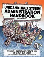 UNIX and Linux System Administration Handbook by Evi Nemeth 9780134277554