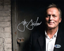 John Grisham Signed 8x10 Photo A Time To Kill The Pelican Brief Rare Beckett Bas