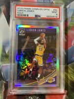 2018-19 Panini Donruss Optic LeBron James HOLO Silver Prizm #94 MINT PSA 9