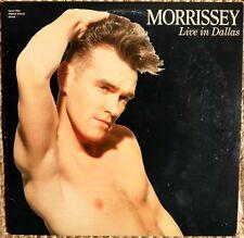 MORRISSEY Laserdisc Live 1991 Concert in Dallas LD