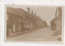 The Village Dallington Sussex Vintage RP Postcard 713a