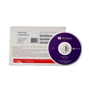 Microsoft Windows 10 Pro 64-Bit DVD With Genuine Product License Key