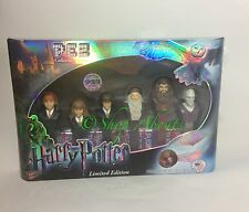 Harry Potter PEZ Dispenser Set Limited Edition LE Brand New FAST FREE SHIPPING