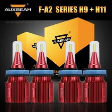 Auxbeam H9+H11 Hi-Lo LED Headlight Kit for Nissan Maxima Murano Rogue 2015-2018