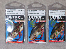 15 - Mustad Ultra Point Hooks - Big Mouth Tube Light Wire - 4/0 - 5/Pack