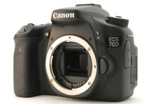 【Exc+5】Canon EOS 70D 20.2MP Digital SLR Camera Black Body Only From Japan #871