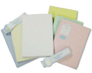 Flannelette Cotton Cot Bed Sheets - Flat - 140x180 cm - 2 Pack - 521