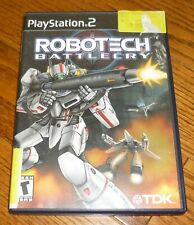 Ps2 Robotech Battlecry video game, PlayStation 2, used, guaranteed!