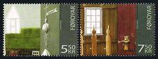 Faroe Islands 478-479, MNH. Sandur Church. Exterior & interior, 2006