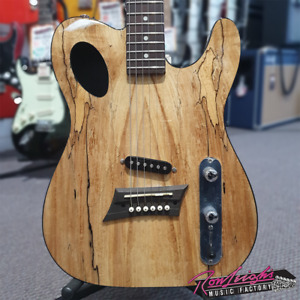 Michael Kelly 50 Forte Hybrid Acoustic Electric Guitar with Spalted Maple Top
