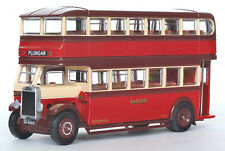 27313 EFE Leyland TD1 Double Deck Bus Enclosed Staircase Barton 1:76 Diecast New