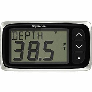 Raymarine E70142 Instru., Depth, i40, w/Thru-Hull Xdcr