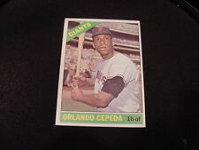 BEAUTIFUL 1966 Topps #132 Orlando Cepeda, San Francisco Giants, NMMT BEAUTY!!