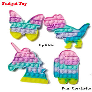 Bubble Kids Fidget Toy Special Needs Silent Sensory Autism Classroom Tiktok Toys