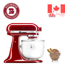 KitchenAid KICA0WH Ice Cream Maker Attachment White