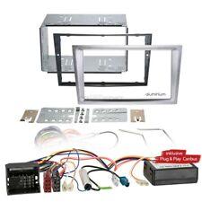 OPEL CORSA C 04-06 2-DIN radio de voiture Set d'INSTALLATION BUS Can aluminium