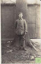 Soldat allemand guerre 14-18 photo sur CPA lot 33