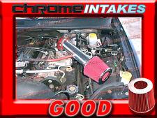 RED 1991-2004 JEEP CHEROKEE/GRAND 2.5 2.5L I4 4.0 4.0L I6 AIR INTAKE KIT 2