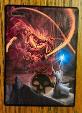 MTG altered art LOTR Balrog Swamp