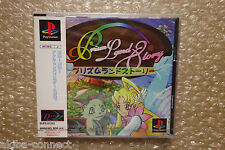 BRAND NEW Prism Land Story Sony PS1 Playstation Japan Neuf!
