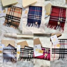 BBR scarf Burberry scarf 100% Wool