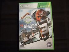 Replacement Case (NO GAME) SKATE 3  XBOX 360