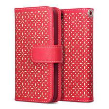Étuis, housses et coques etuis portefeuilles rouge iPhone 5s pour téléphone mobile et assistant personnel (PDA)