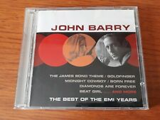JOHN BARRY THE BEST OF THE EMI YEARS CD SOUNDTRACK