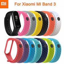 For XIAOMI MI Band 4 /MI Band 3 Silicon Bangle Wrist Strap WristBand Bracelet Sd