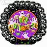 10Pcs Skull Black Halloween Party Birthday Helium Quality Latex Balloons Decor