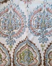 Pottery Barn Adele ORGANIC Damask KING duvet cover floral ikat