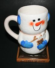 "S'mores Snowman Mug ""SMORES 5c EACH"""