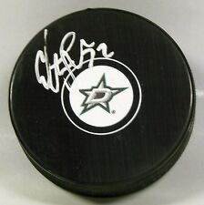 COLTON SCEVIOUR Signed DALLAS STARS HOCKEY PUCK! AUTOGRAPH! 1006174