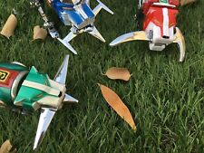 3 x Weapons for Voltron Blue Red Green Black Yellow Lion Sword Go Knife Blade
