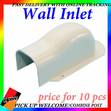 10 Pcs Air Conditioner Wall Inlet Sturdy Anti-Corrosion Wall Cover Ducting QWA10