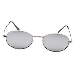 Mode Schatten Retro Runde Kreis Metallrahmen Brillen Klare Linse Brillen
