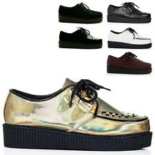 Unbranded Lace-up Synthetic Leather Shoes for Women