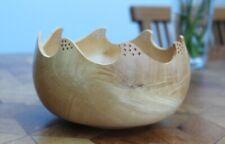 Handmade Sycamore Wood Turned Bowl Rod Litherland