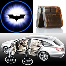 2x Wireless Car Accessories LED door Projector Logo light for Batman Dark Knight