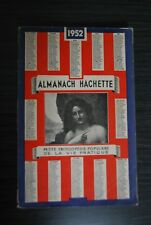 Almanach Hachette 1952