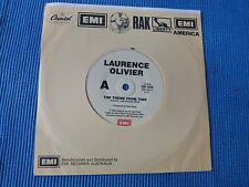 RECORD 45 RPM - LAURENCE OLIVIER , THE THEME FROM TIME / INSTRUMENTAL VERSION