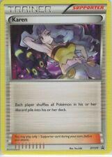 Pokemon Karin XY177 Battle Arena Decks Keldeo vs Rayquaza promo mint condition