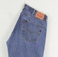 Vintage LEVI'S 501 Regular Straight Fit Men's Blue Jeans W38 L32